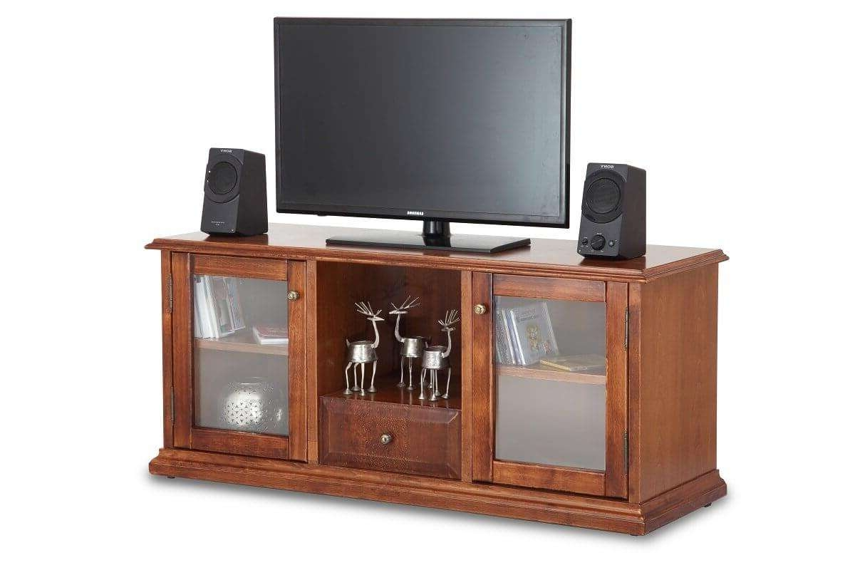 Buy New Day Wooden Tv Cabinet | Tv Cabinets Online | Ekbote Regarding Wooden Tv Cabinets (View 3 of 20)