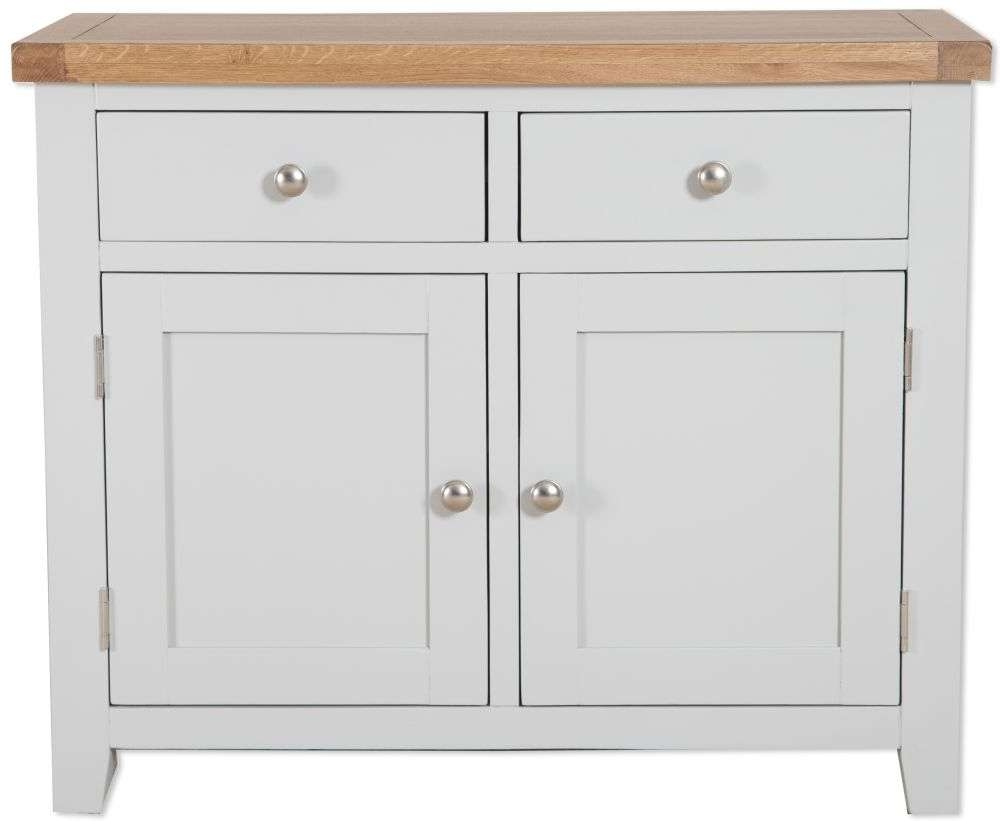 Buy Perth French Grey Sideboard – 2 Door Online – Cfs Uk Within 2 Door Sideboards (View 3 of 20)