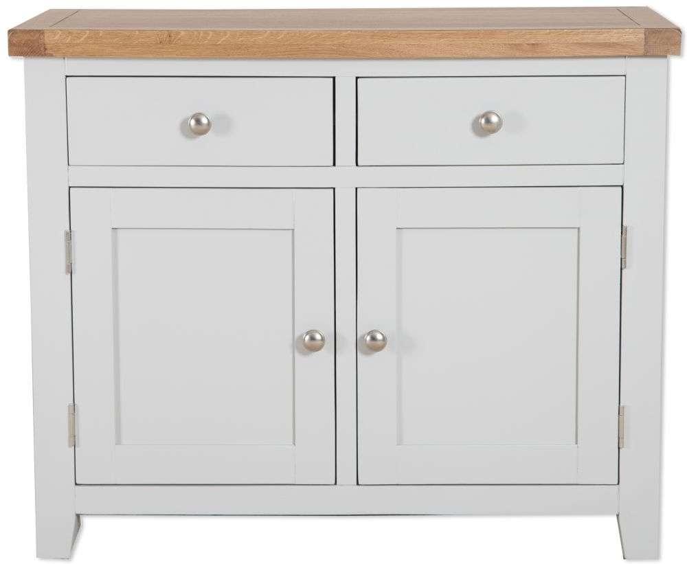Buy Perth French Grey Sideboard – 2 Door Online – Cfs Uk Within 2 Door Sideboards (View 2 of 20)