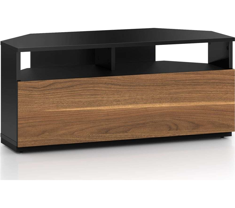 Buy Sonorous Troy Trd100 1000 Mm Crn Tv Stand – Black & Walnut For Sonorous Tv Cabinets (View 3 of 20)