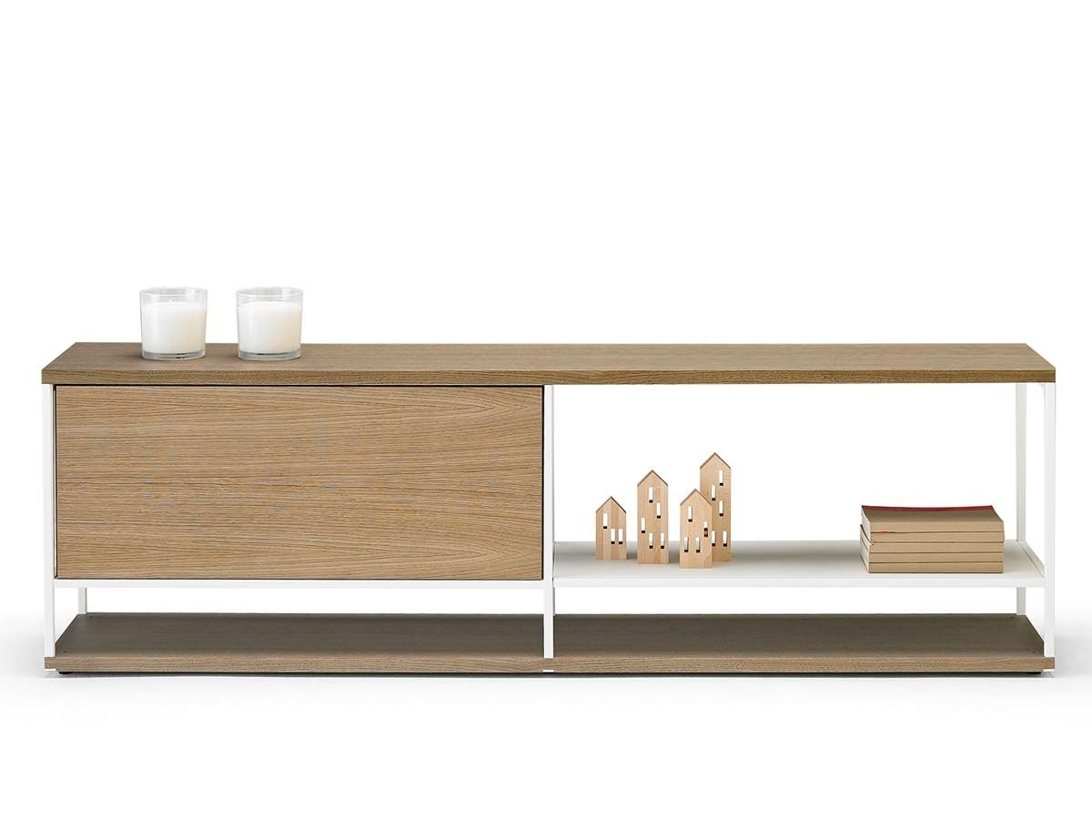 Buy The Punt Literatura Open Low Sideboard At Nest.co (View 4 of 20)