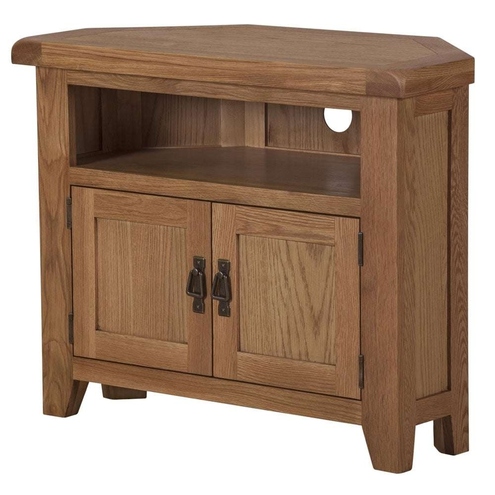 Buy Wexford Oak Corner To Cabinet At Www.tjhughes.co (View 4 of 20)