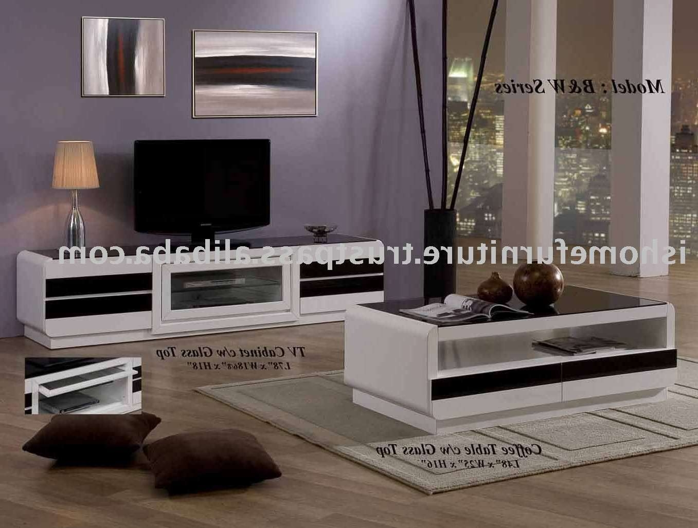 B&w Series – Coffee Table,tv Stand – Buy Home Furniture,coffee Intended For Tv Cabinets And Coffee Table Sets (View 1 of 20)