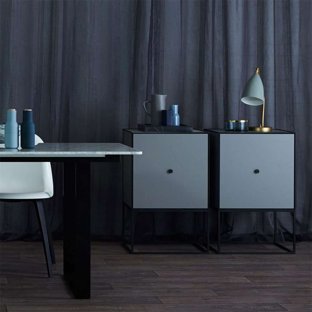 By Lassen Designer Frame 49 Sideboard And Buffet – Dark Grey Pertaining To Grey Sideboards (View 4 of 20)