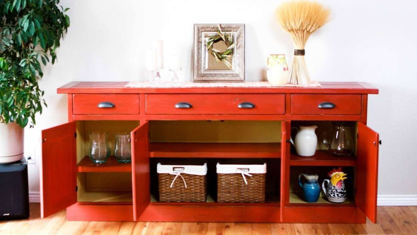 Cabinet : Amazing Buffet Sideboards Amazing Kitchen Credenza Hutch Throughout Sideboards And Hutches (View 2 of 20)