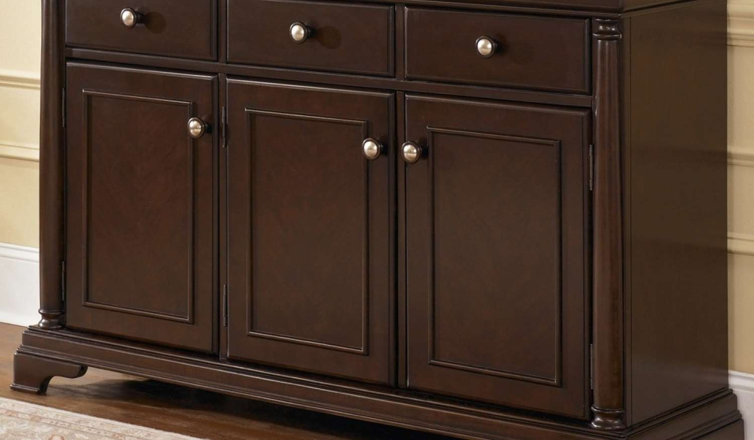 Cabinet : Amazing Buffet Sideboards Amazing Kitchen Credenza Hutch With Regard To Kitchen Sideboards Buffets (View 5 of 20)