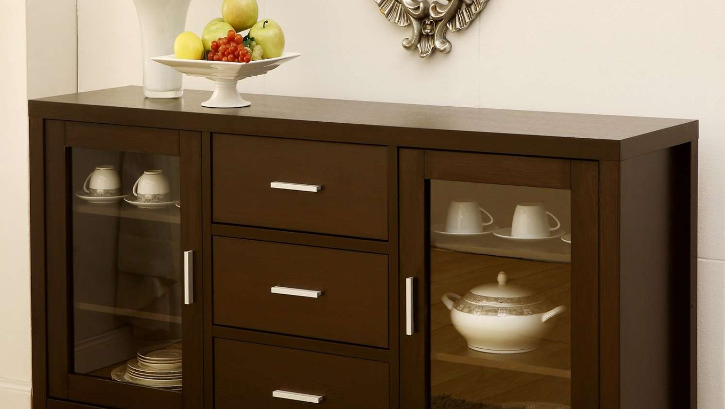 Cabinet : Awesome 60 Buffet Cabinet Vintage Hard Rock Maple Tell Intended For 60 Inch Sideboards (View 17 of 20)