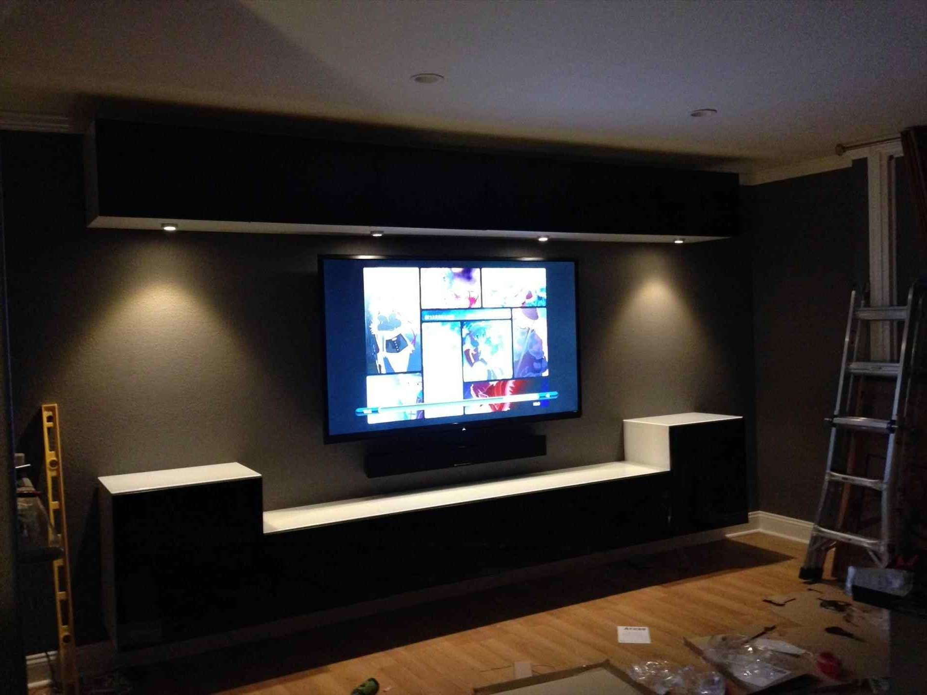 Cabinet : Back Panel Lack Unit Pe S Jpg Table For Under Ed U Media Within Wall Mounted Tv Cabinets Ikea (View 11 of 20)