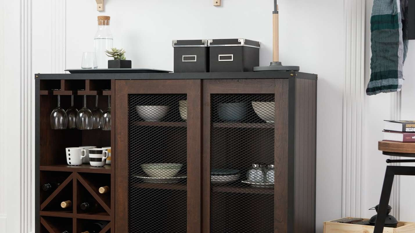 Cabinet : Bbi Beautiful Overstock Buffet Amazon Com Iohomes For Overstock Sideboards (View 5 of 20)