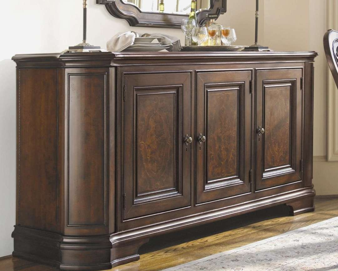 Cabinet : Trendy Antique Oak Sideboards And Buffets Favorable In Trendy Sideboards (View 2 of 20)