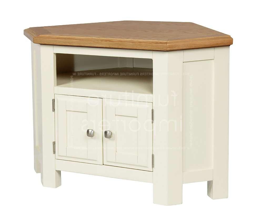 Calero Painted Corner Tv Unit | Calero Painted Range | Furniture Throughout Small Corner Tv Cabinets (View 18 of 20)
