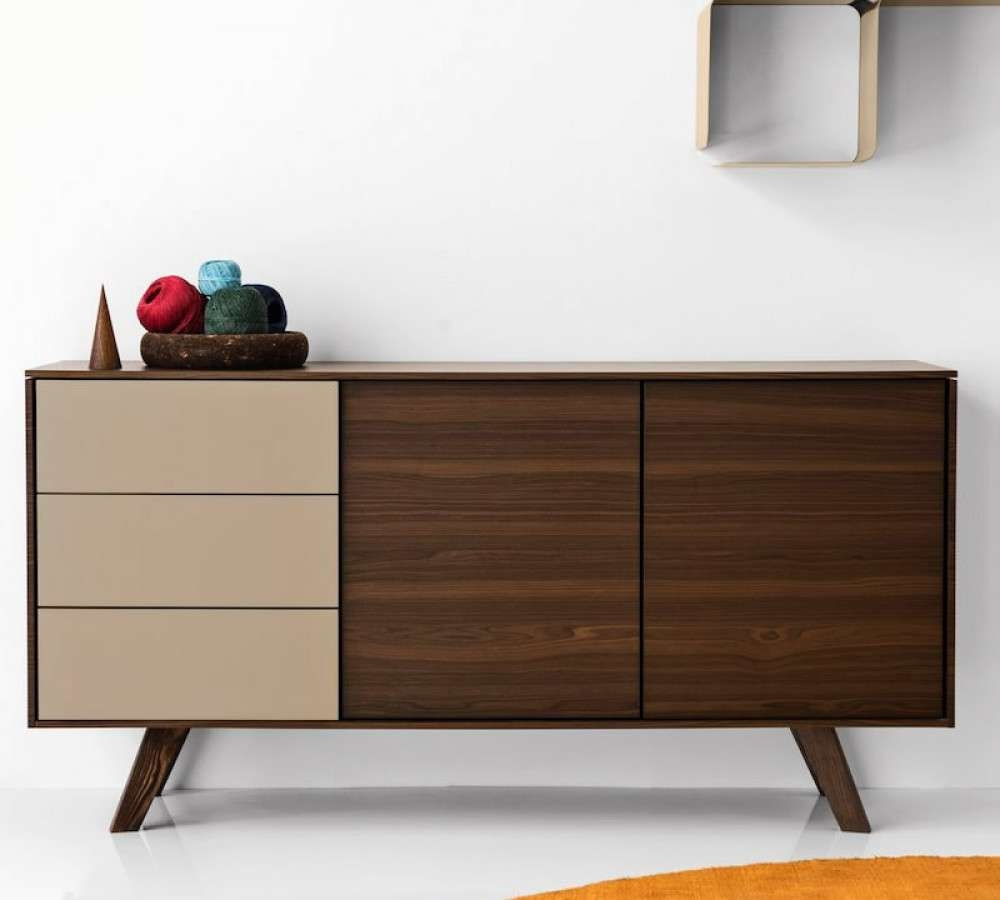 Calligaris Adam Sideboard | Cs/6052 4 – Design Icons Inside Quirky Sideboards (View 13 of 20)
