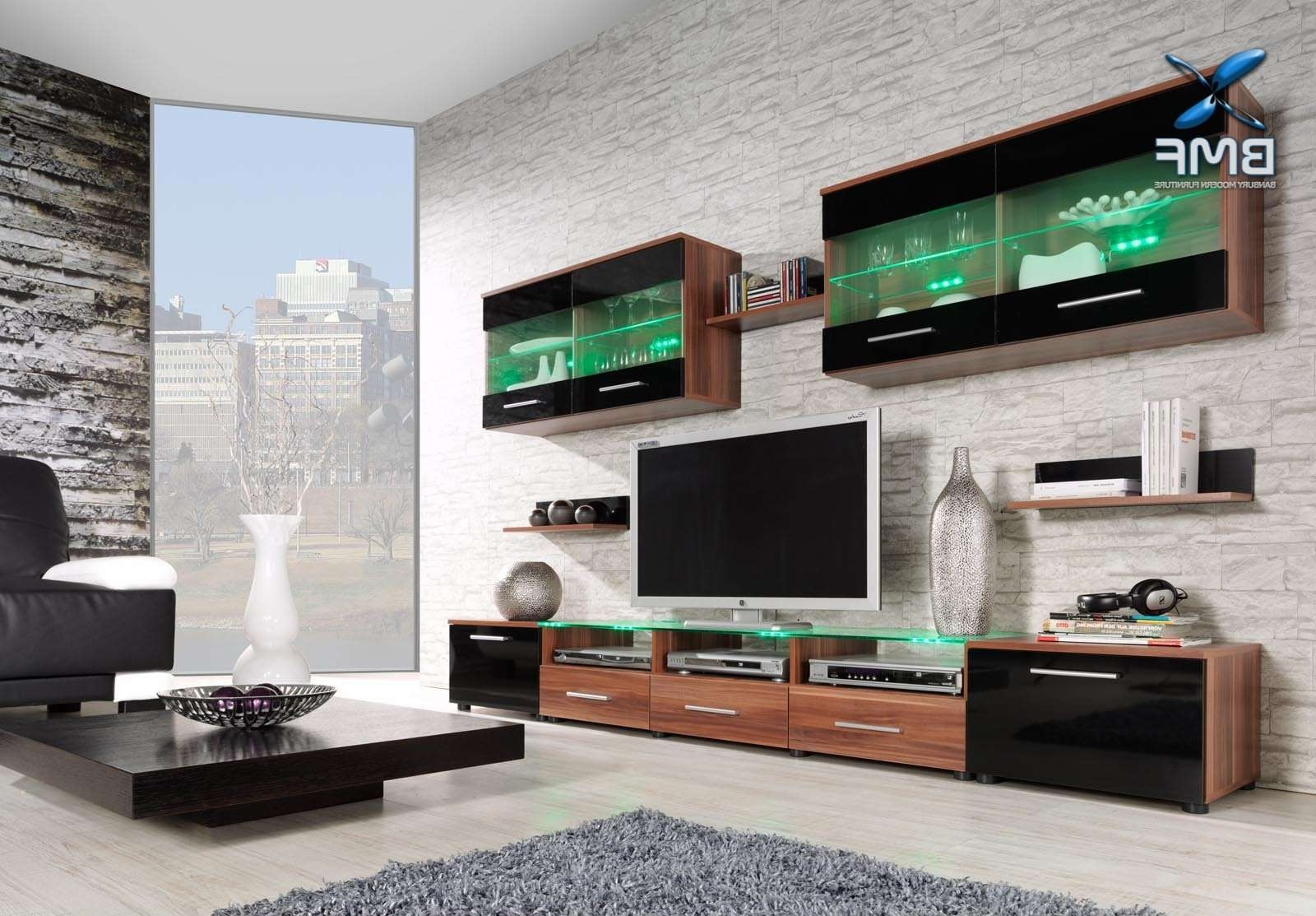 Cama Exclusive Range Of Wall Units – Banbury Modern Furniture Ltd In Wall Display Units And Tv Cabinets (View 1 of 20)