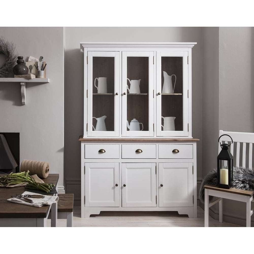 Canterbury Dresser And Sideboard With Glass Doors | Noa & Nani In White Sideboards With Glass Doors (View 3 of 20)