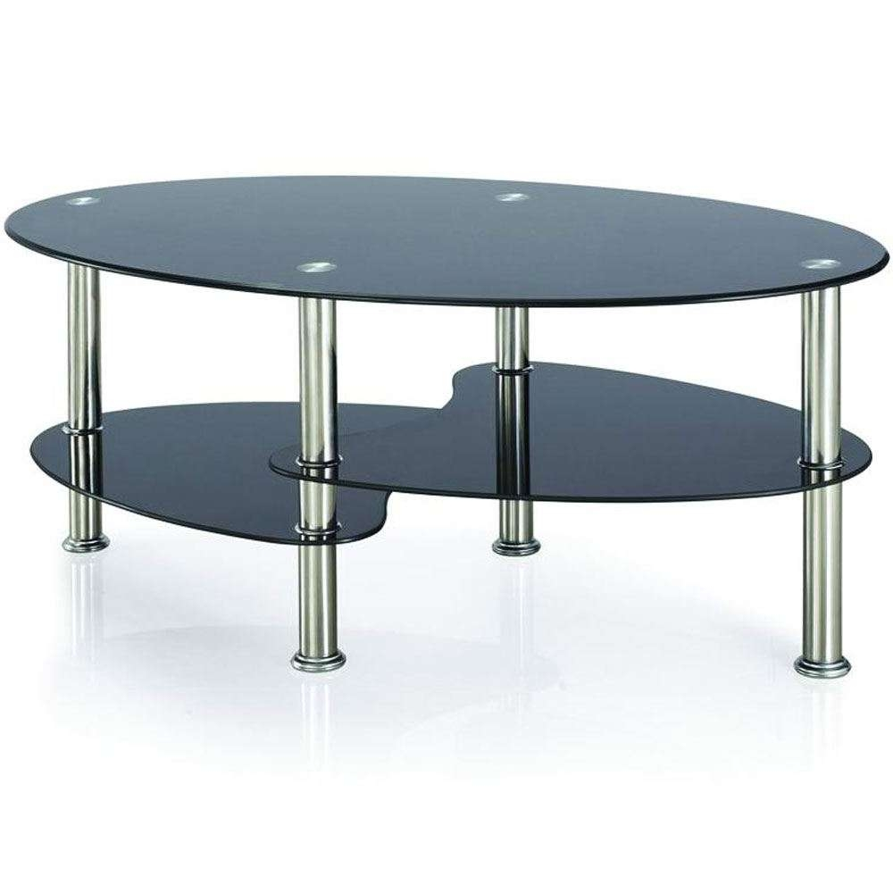 Cara Furniture Range Coffee Table Nest Of 3 Tables Glass Top Within Preferred Range Coffee Tables (View 4 of 20)
