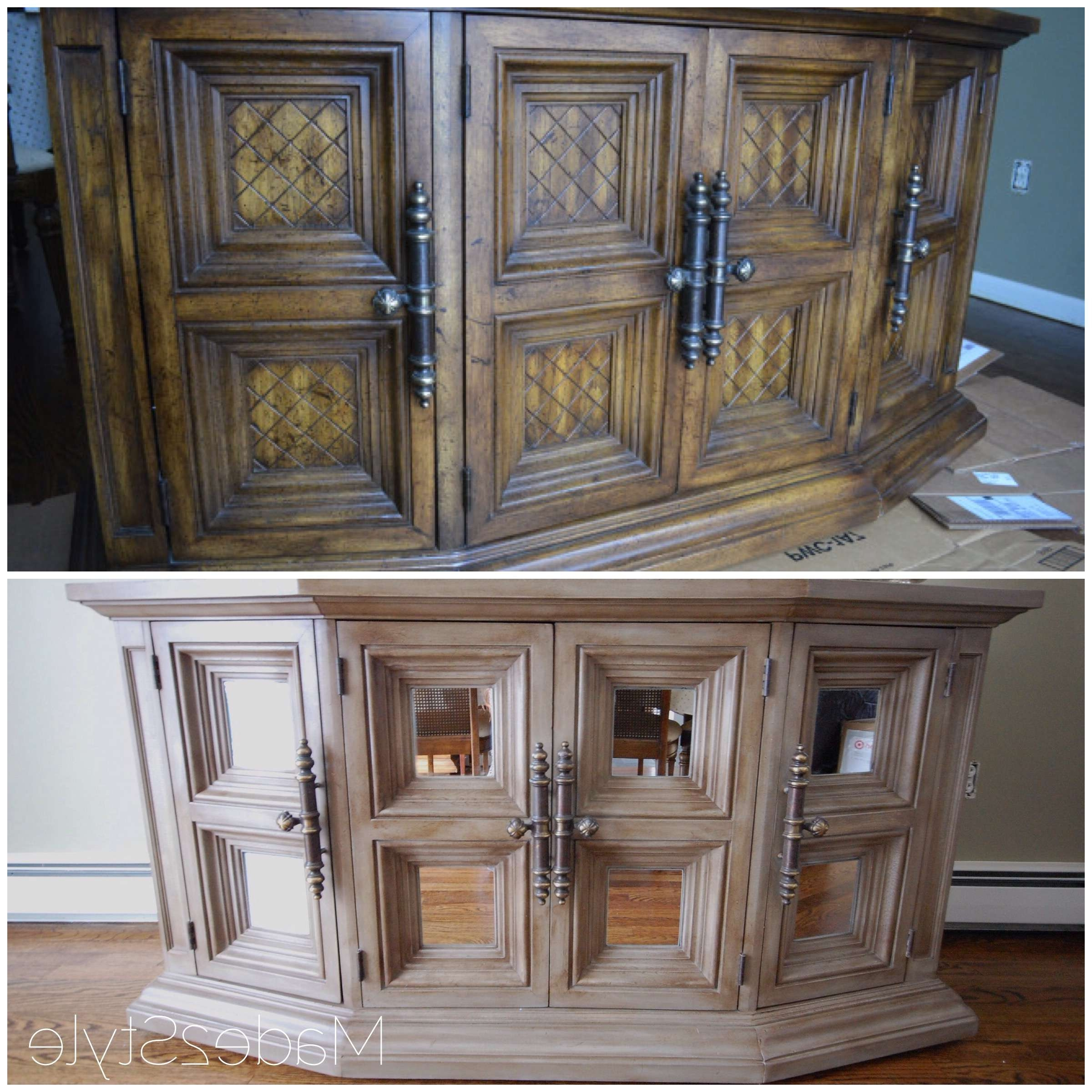 Chalk Painted Buffet Makeover (rh Inspired) Regarding Chalk Painted Sideboards (View 12 of 20)
