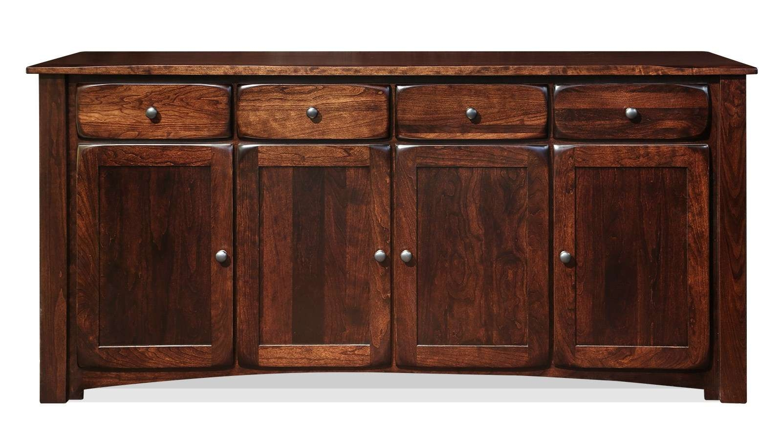 "Chappell Hill 76"" Rich Tobacco Sideboard 