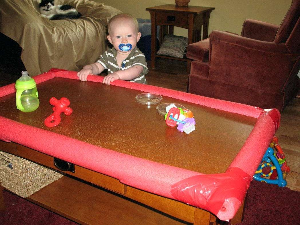 Childproof Coffee Table Beauteous After Pricing The Bumpers And Regarding 2017 Baby Proof Coffee Tables Corners (View 18 of 20)