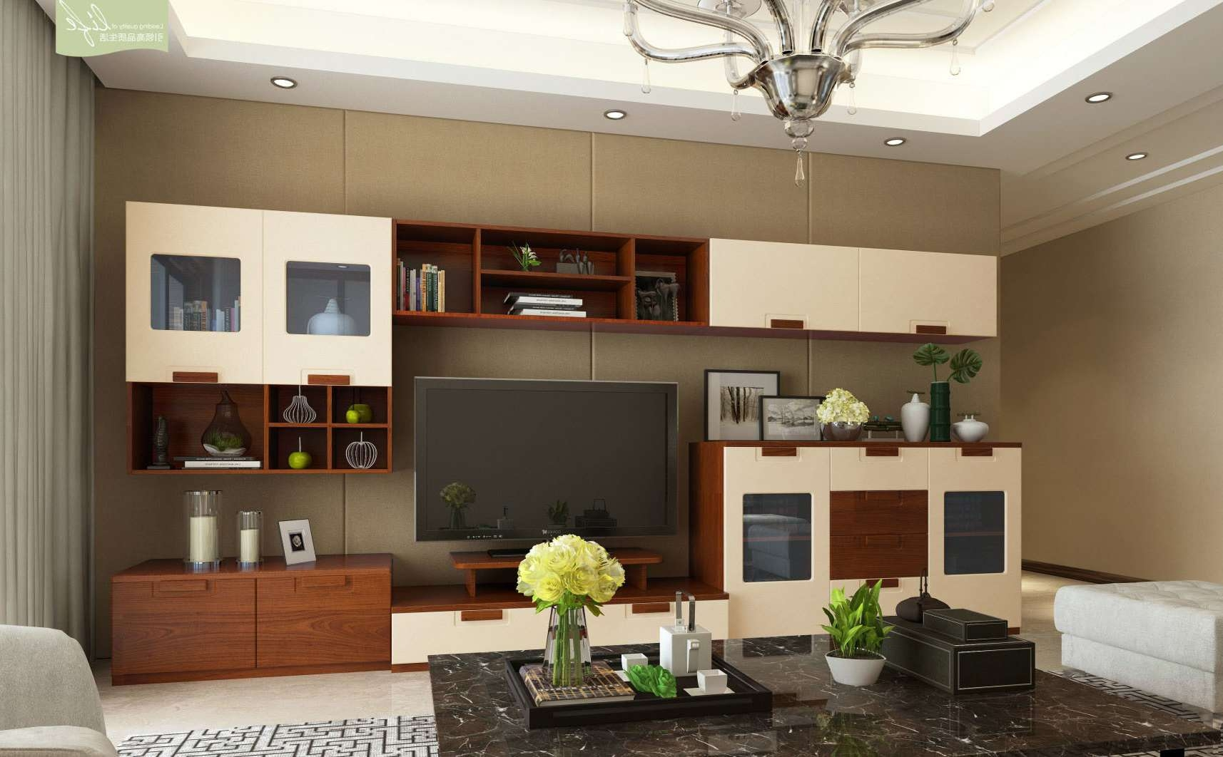 China Modern Design Tv Cabinet For Living Room Furniture (v3 T001 Within Living Room Tv Cabinets (View 6 of 20)