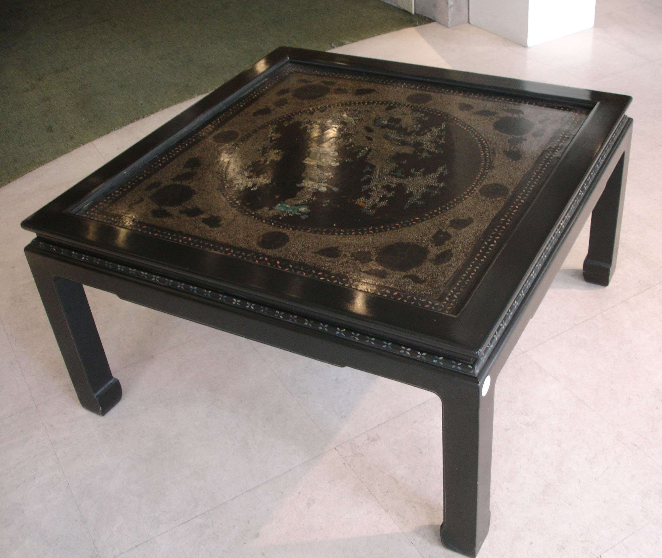 Chinese Porcelain Within Most Recently Released Mother Of Pearl Coffee Tables (View 2 of 20)