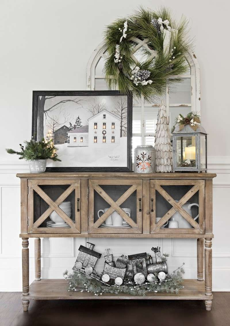 Christmas Decoration: The Best Sideboards For The Holidays Within Sideboards Decors (View 6 of 20)