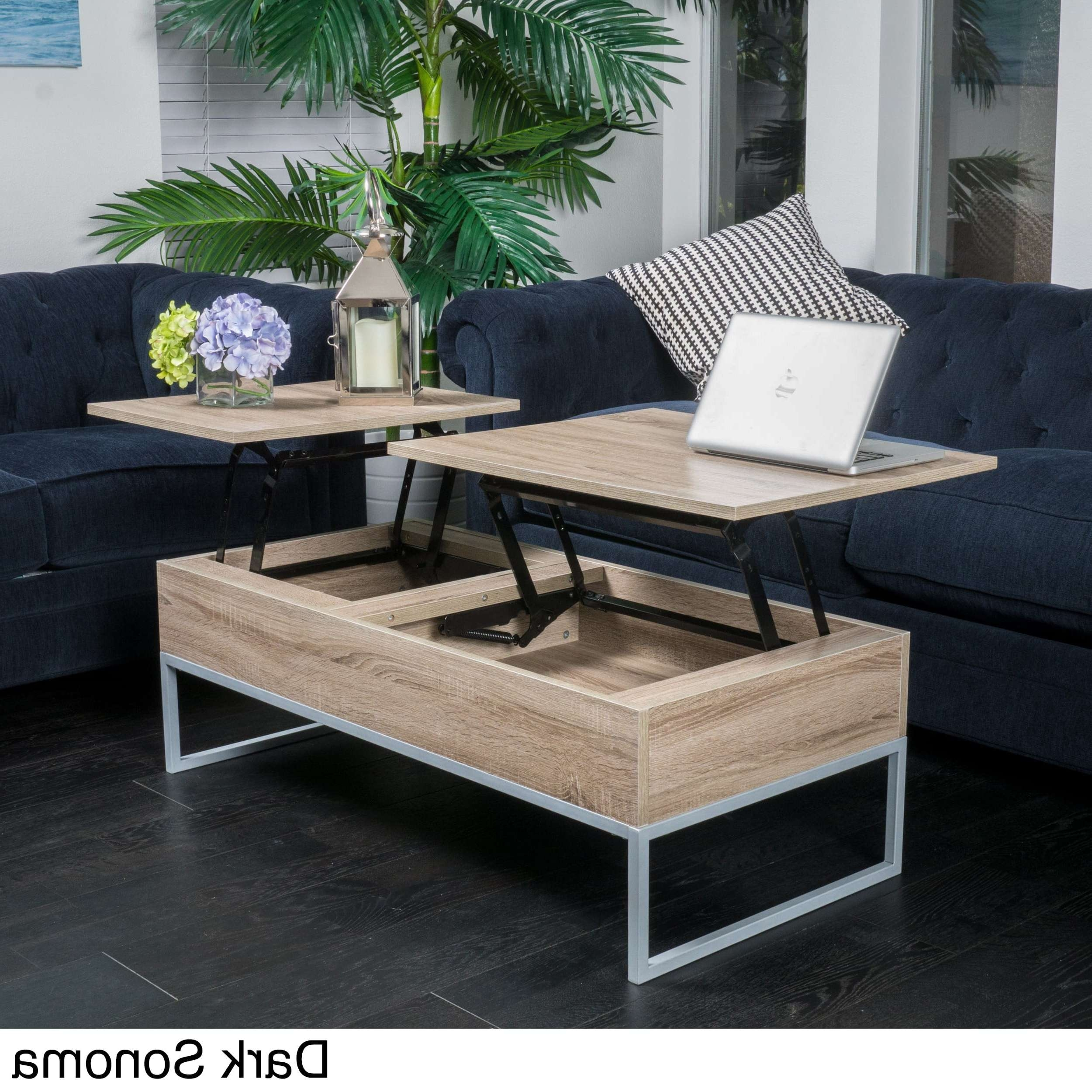 Christopher Knight Home Lift Top Wood Storage Coffee Table – Free Within 2018 Cd Storage Coffee Tables (View 6 of 20)