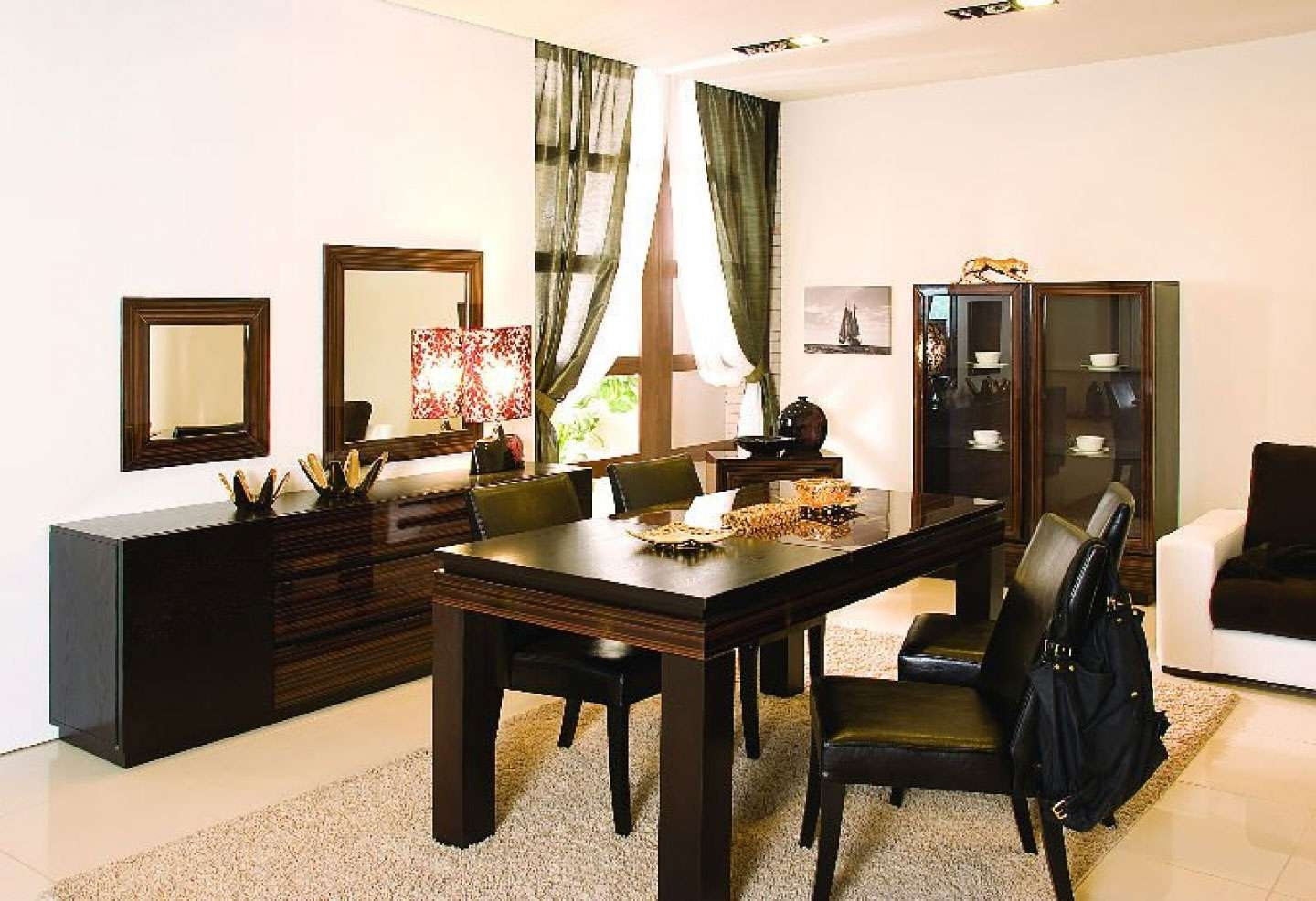 Classic Dining Room Table Set Bring Back Past Impression – Amaza In Dining Room Sets With Sideboards (View 7 of 20)