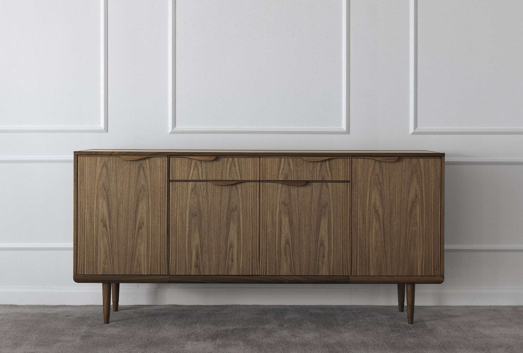 Click To Enlarge Small Wooden Sideboards With Regard To Wooden Sideboards (View 5 of 20)