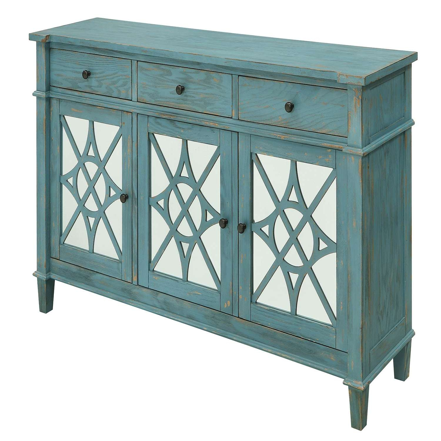 Coast To Coast Imports Buffets And Sideboards | Bellacor Throughout Green Sideboards (View 17 of 20)