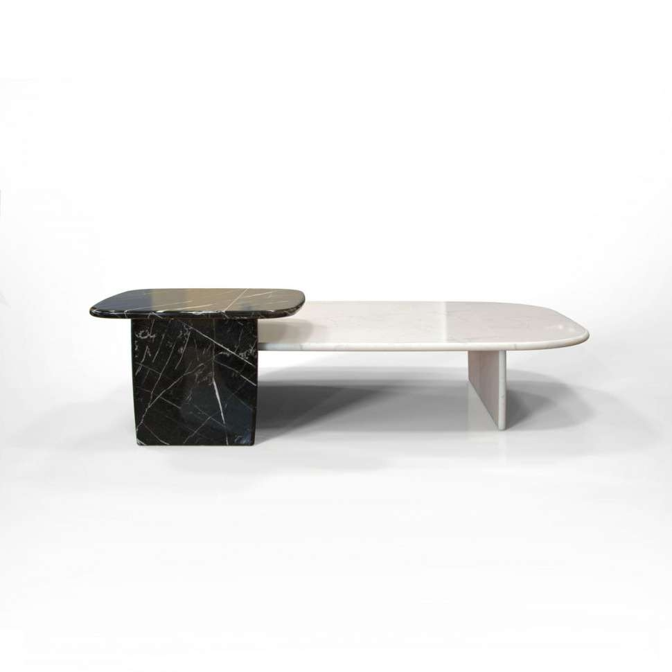 Coffe Table : Coffee Table Marble Slab Coffee Table Marble And Pertaining To Latest Marble And Glass Coffee Table (View 1 of 20)