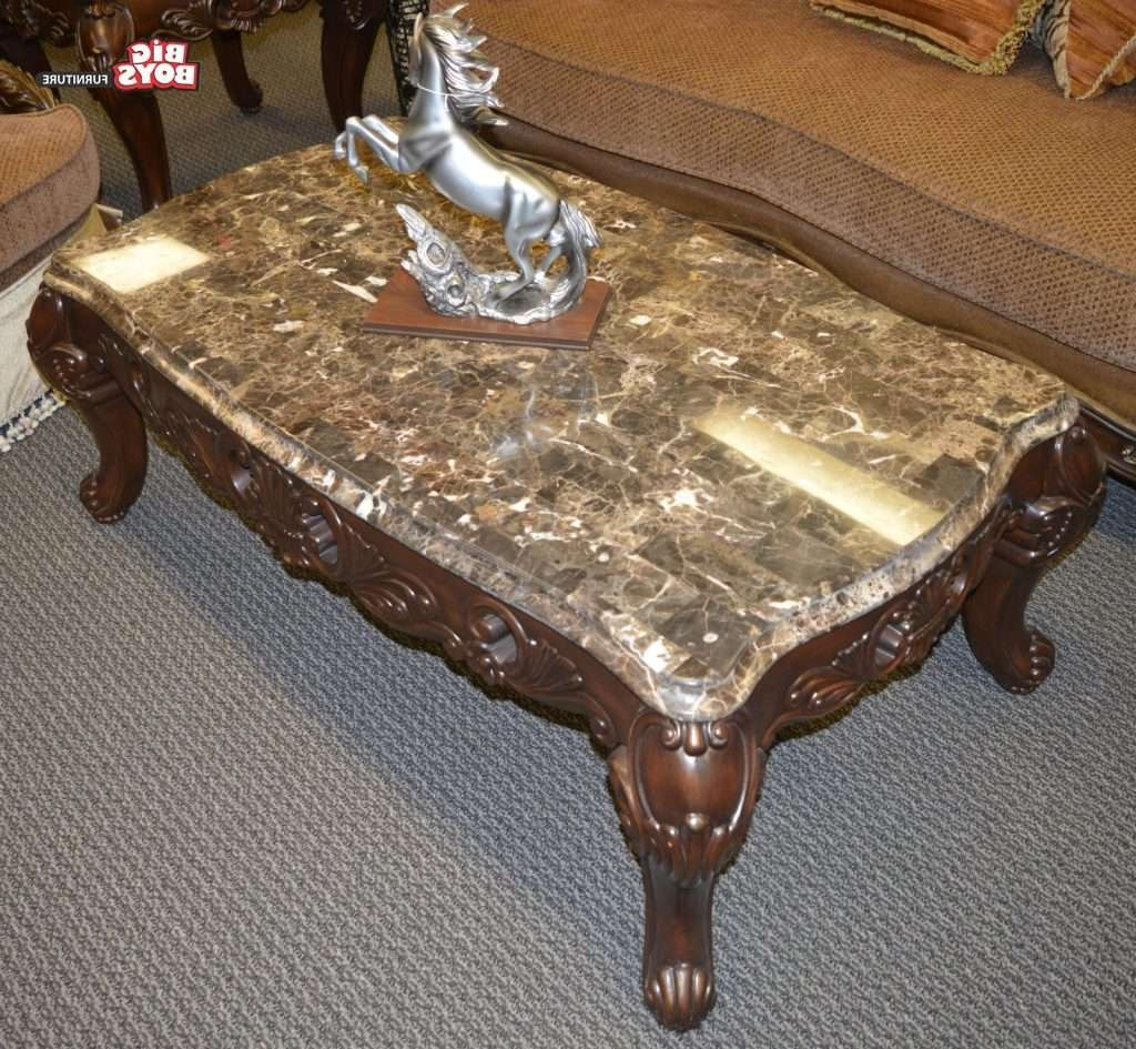 Coffe Table : Industrial Storage Coffee Table Dark Wood Living With Regard To Recent Big Coffee Tables (View 17 of 20)