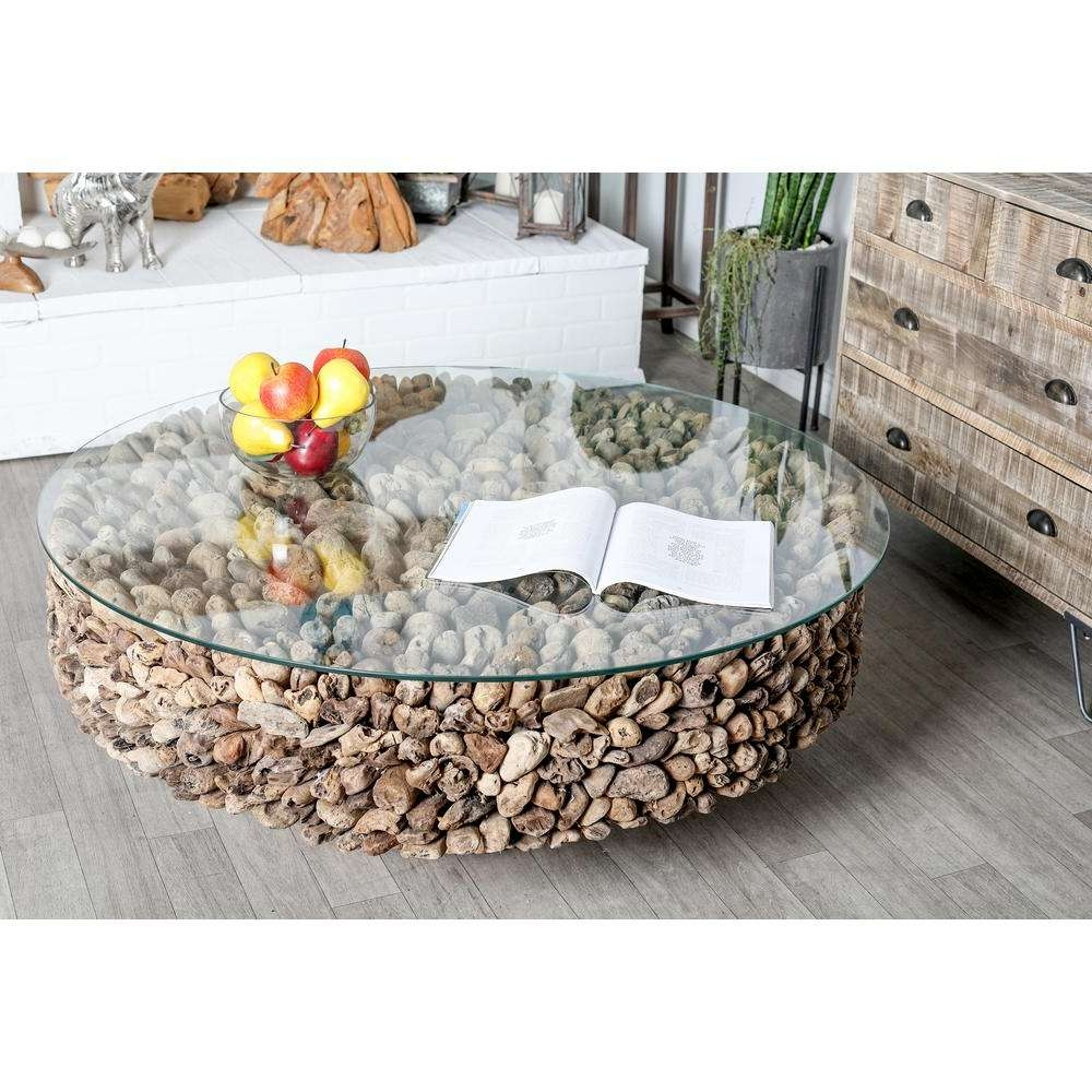 Coffee Table – Accent Tables – Living Room Furniture – The Home Depot With Most Current Boho Coffee Tables (View 17 of 20)