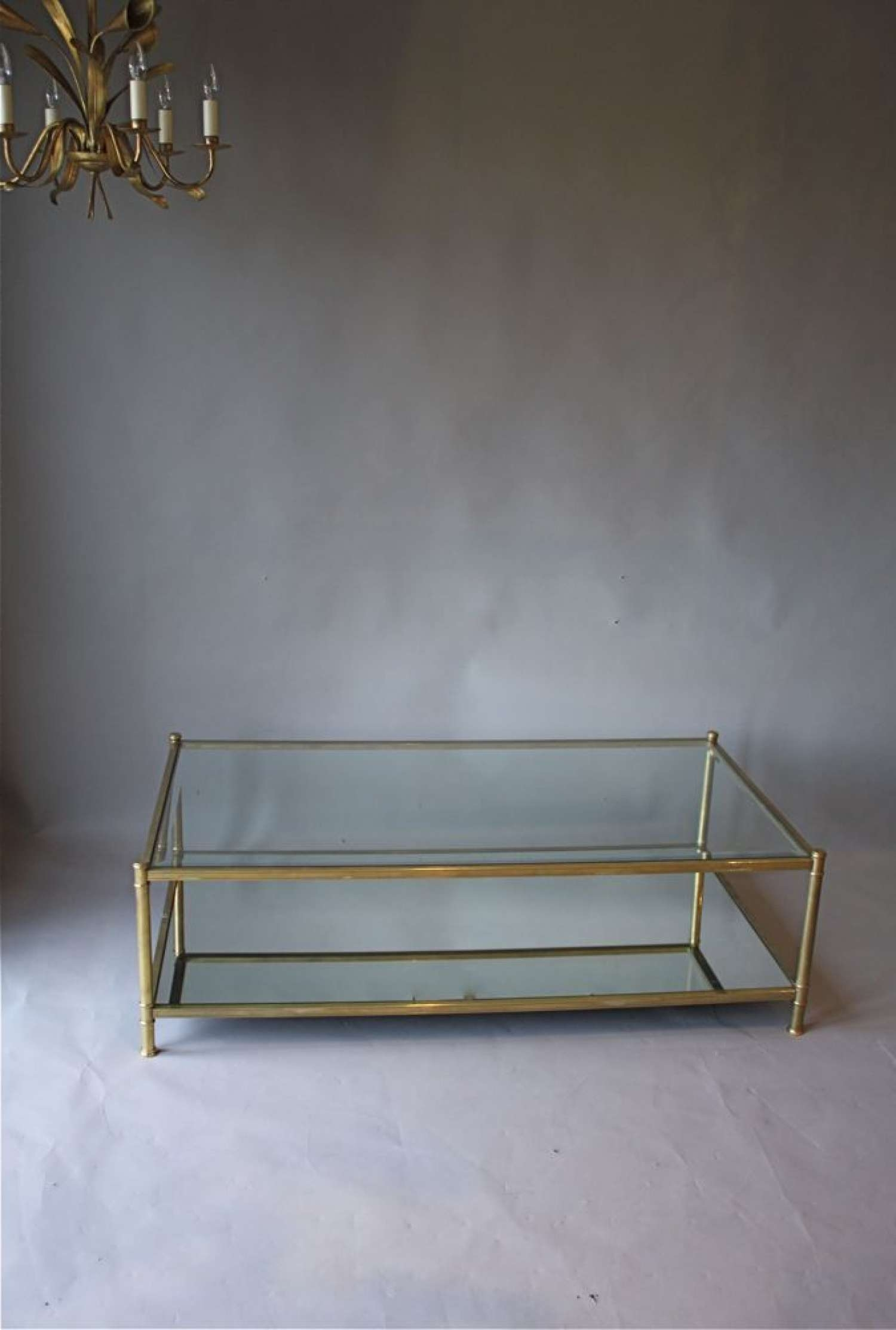 Coffee Table : Amazing Antique Coffee Table Copper Coffee Table Intended For Trendy Antique Glass Coffee Tables (View 2 of 20)