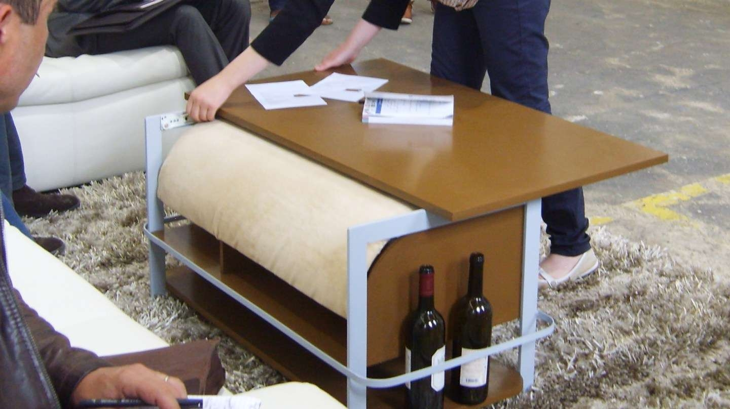Coffee Table : Amazing Coffee Table Footrests 3pc Ottoman Bench In Popular Coffee Table Footrests (View 3 of 20)