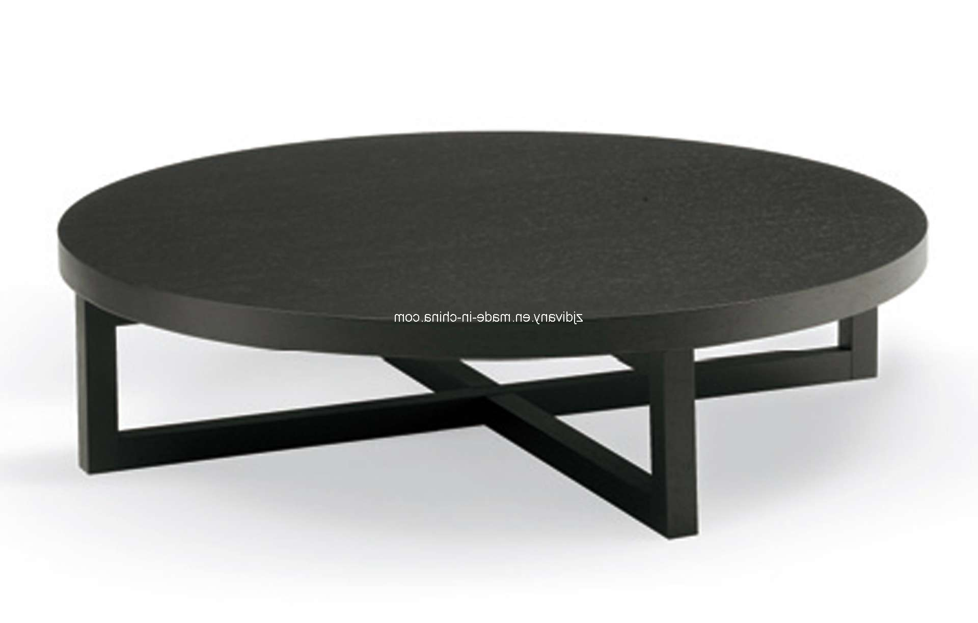 Coffee Table : Amazing Dark Coffee Table Metal Glass Coffee Table Inside Most Popular Black Circle Coffee Tables (View 5 of 20)