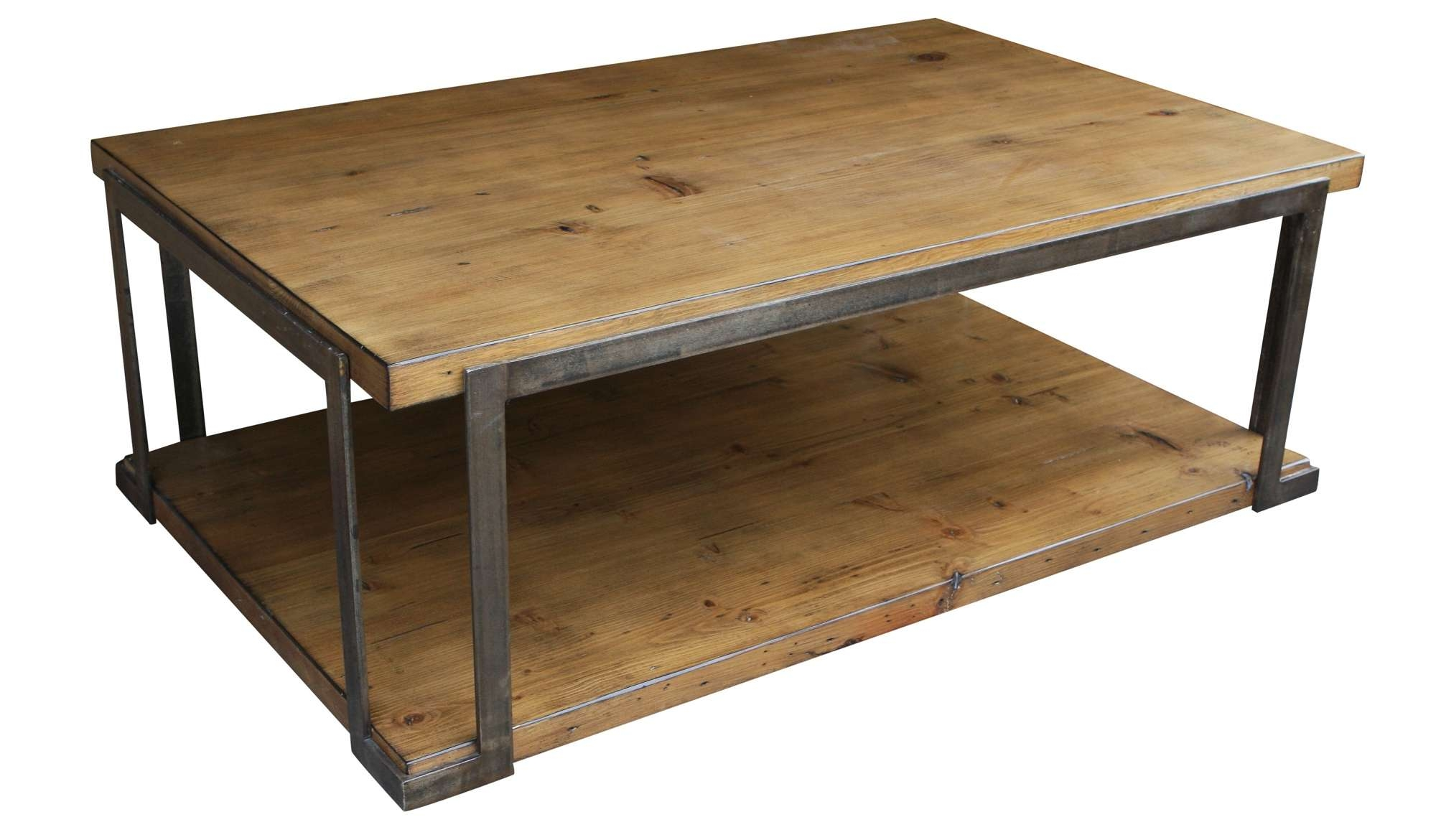 Coffee Table: Amazing Metal Coffee Tables Design Metal Frame Within 2018 Steel And Wood Coffee Tables (View 20 of 20)