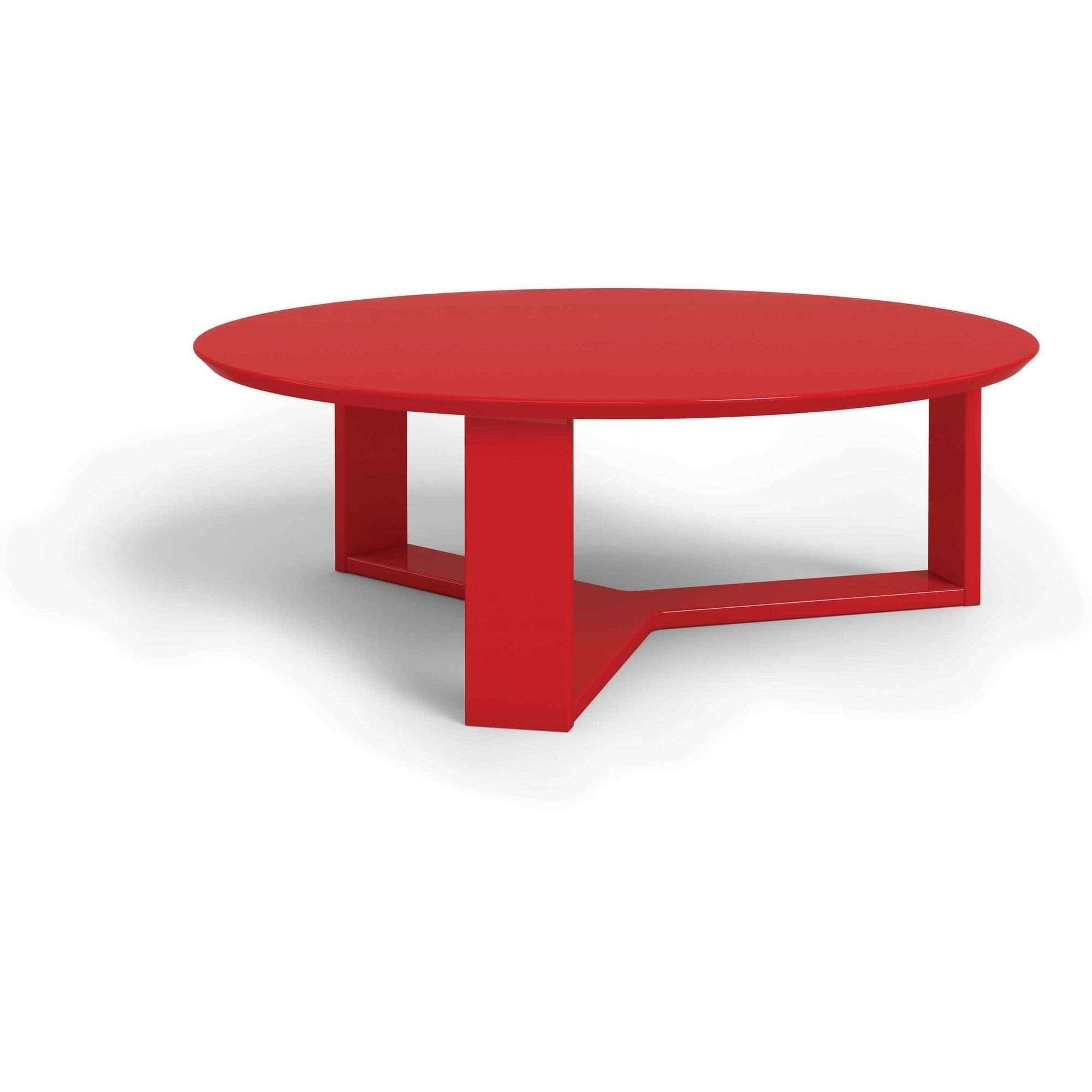 Coffee Table : Amazing Noguchi Coffee Table Wood Coffee Table Oval Within Well Known Round Red Coffee Tables (View 2 of 20)