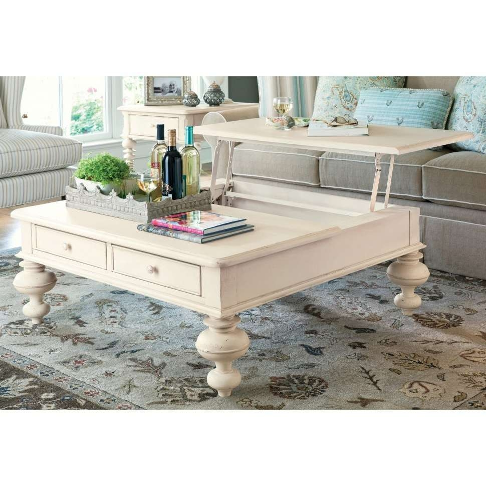 Coffee Table : Amazing Ottoman Coffee Table Rising Coffee Table Regarding Most Recent Glass Lift Top Coffee Tables (View 20 of 20)