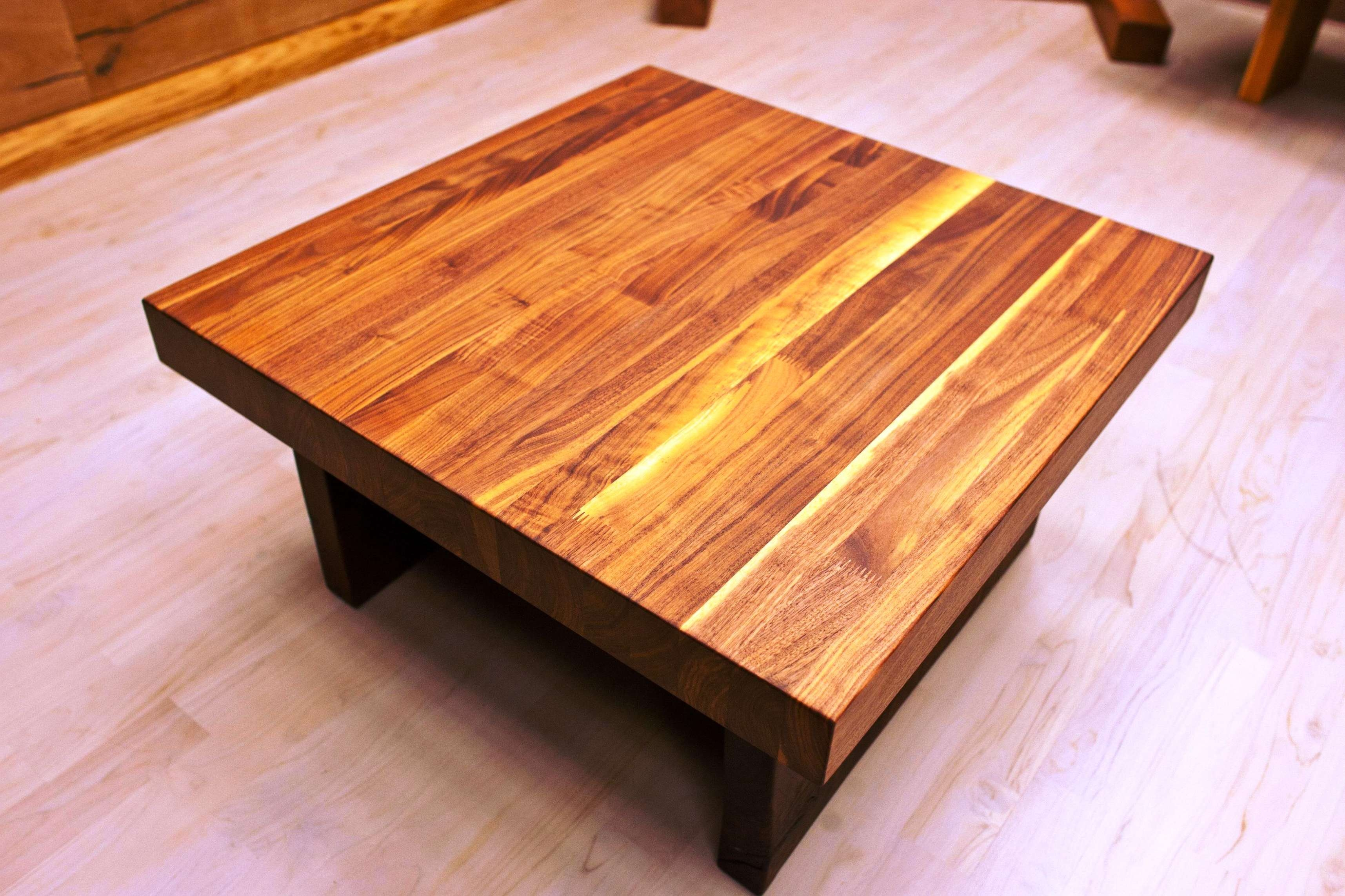 Coffee Table : Amazing Real Wood Coffee Table Cherry Coffee Table Within Popular Solid Wood Coffee Tables (View 3 of 20)
