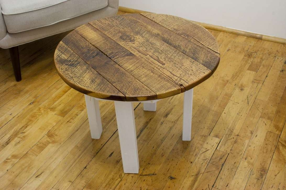 Coffee Table Amusing Round Pine Knotty Legs Tables And End With Pertaining To Famous Round Pine Coffee Tables (View 2 of 20)