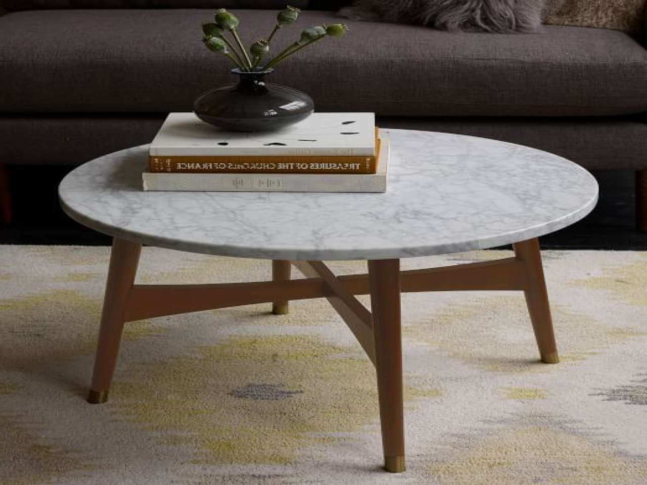 Coffee Table: Amusing Small Marble Coffee Table Design Round Pertaining To Well Known Small Marble Coffee Tables (View 2 of 20)