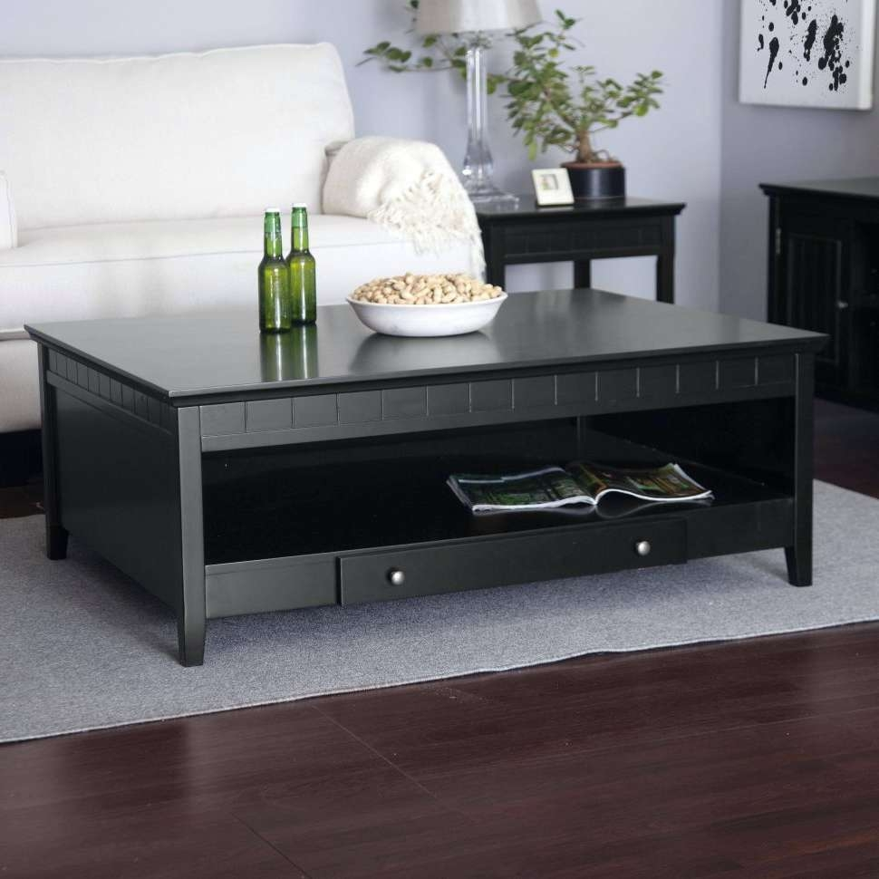 Coffee Table : Astounding Square Coffee Table With Drawers Photos With Regard To Most Current Square Coffee Tables With Storage (View 3 of 20)