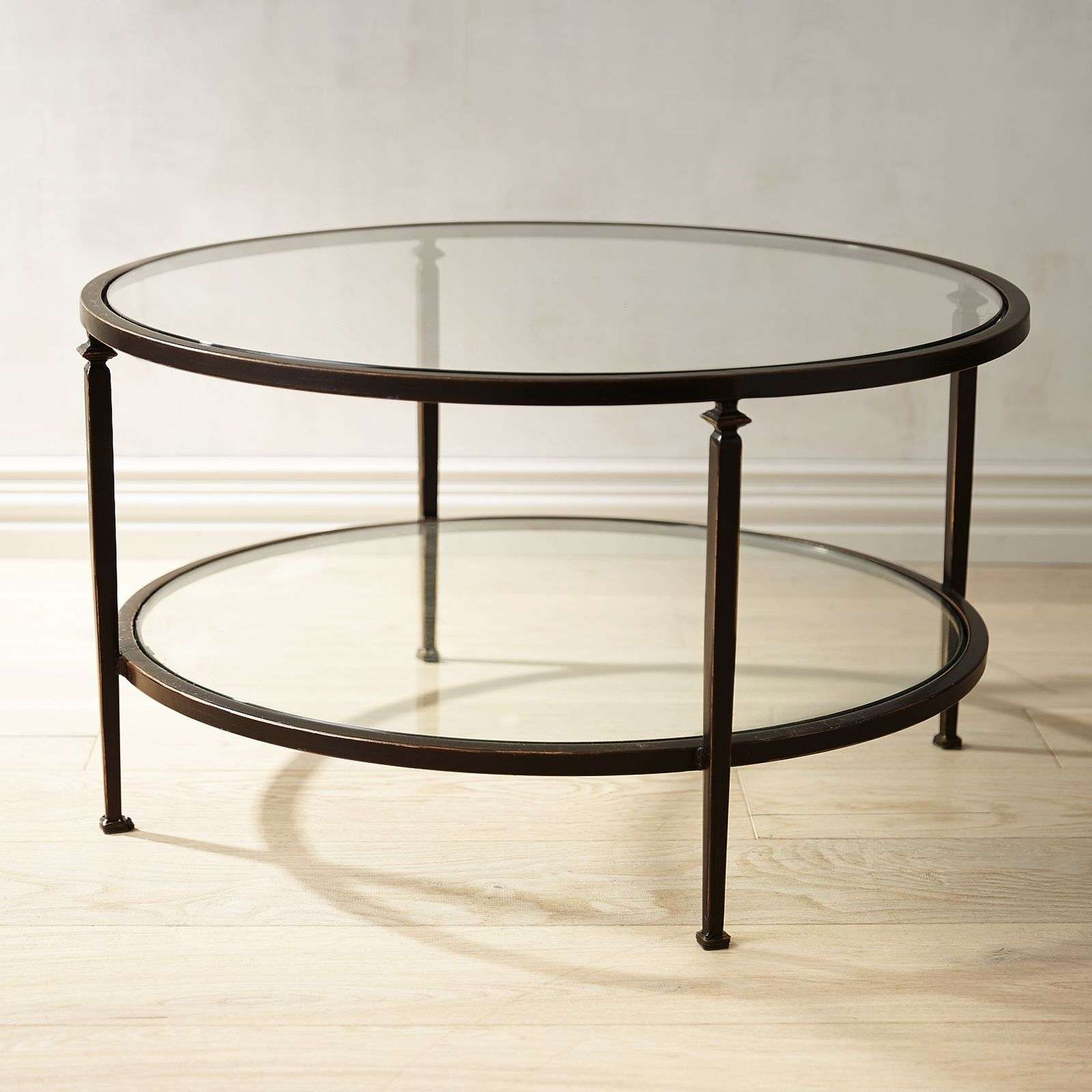 Coffee Table : Awesome Glass And Metal Coffee Table Wood Coffee For 2018 Metal Coffee Tables With Glass Top (View 3 of 20)