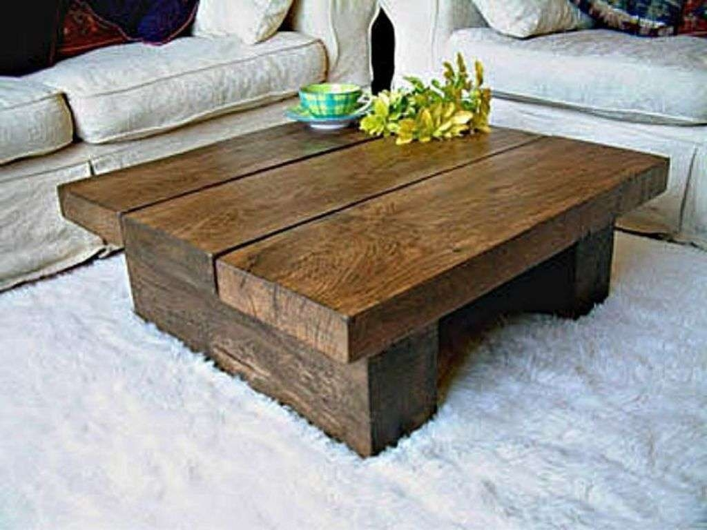 Coffee Table : Awfulre Wood Coffee Table Images Inspirations With Regard To Trendy Square Large Coffee Tables (View 1 of 20)