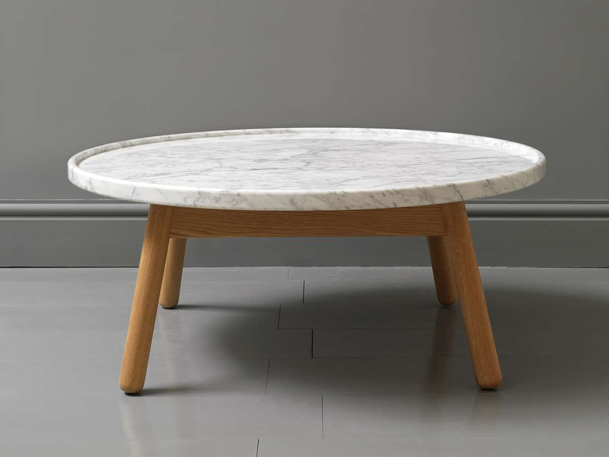 Coffee Table: Cheap Round Coffee Tables Round Coffee Table Set Pertaining To Famous White Circle Coffee Tables (View 14 of 20)
