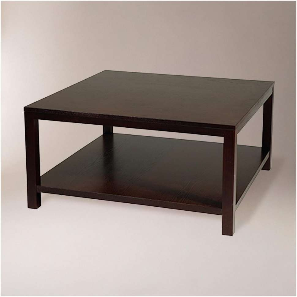 Coffee Table : Coffee Table Popular Dark Wood Tables With Glass With Most Recently Released Dark Wood Coffee Tables (View 4 of 20)
