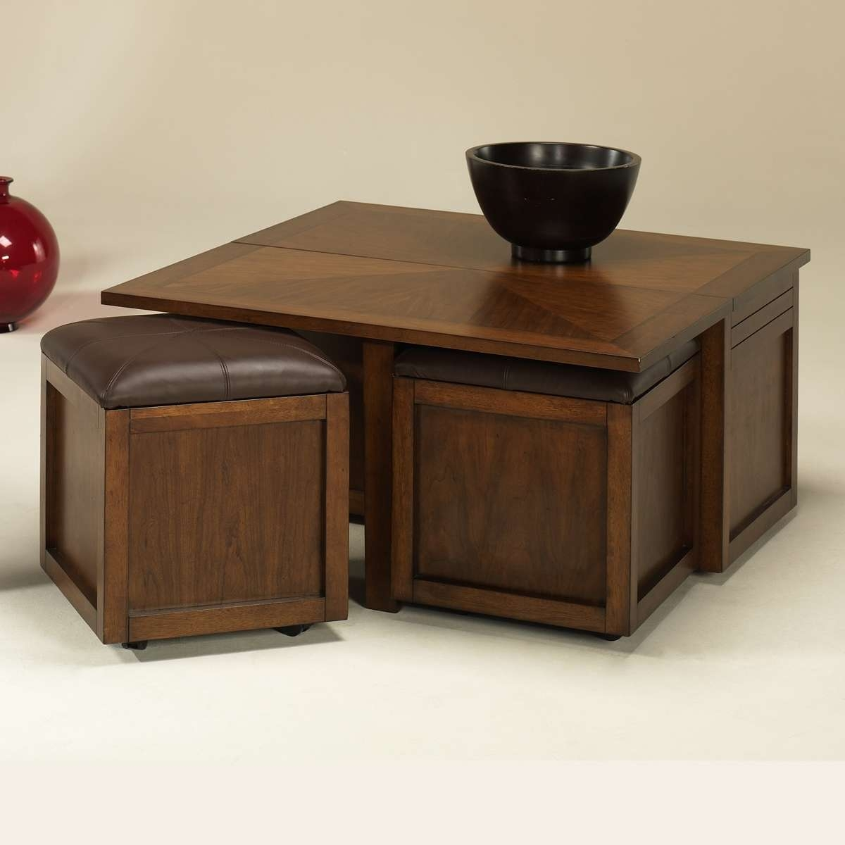 Coffee Table, Coffee Tables Ottomans Ottoman Storage Coffee Table With 2018 Coffee Tables With Seating And Storage (View 11 of 20)