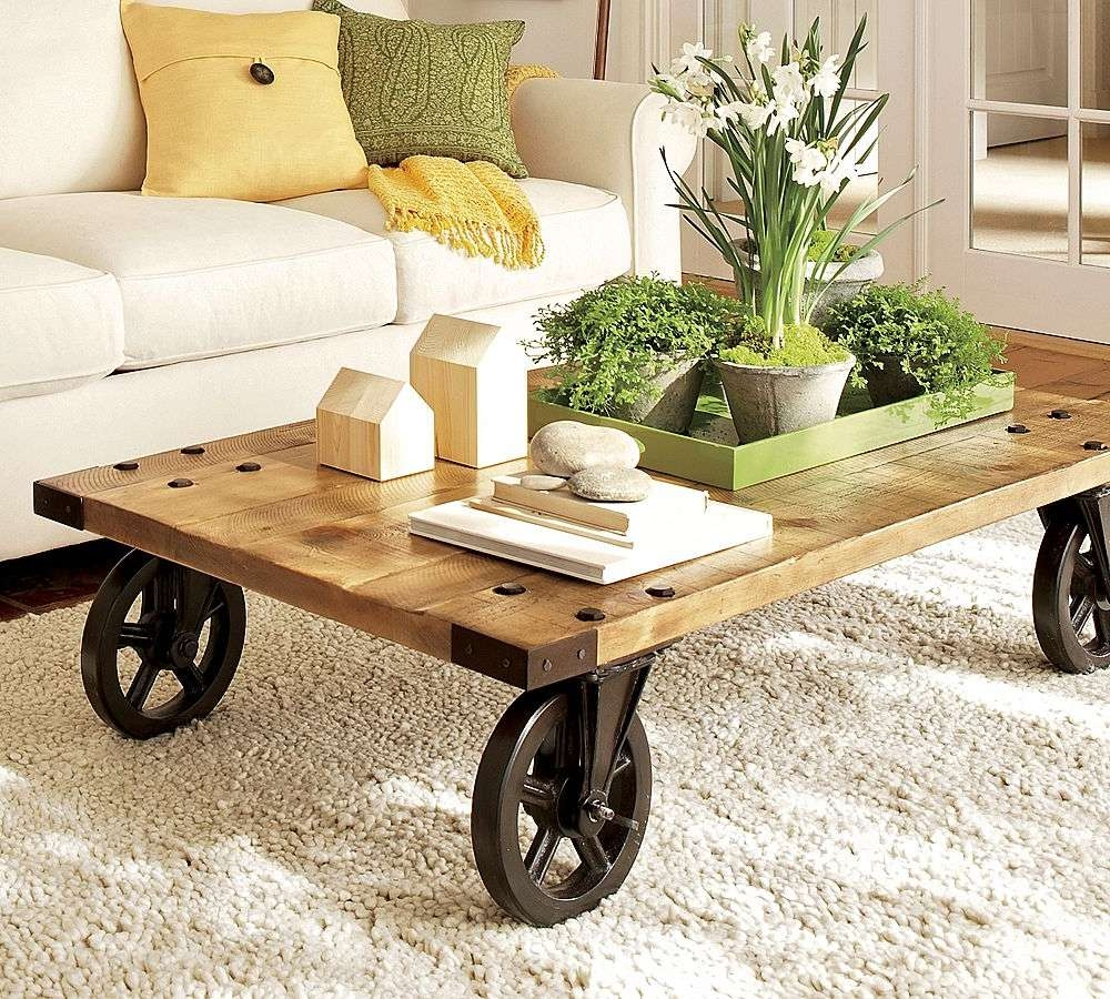 Coffee Table Decor – The Style Rebels Inside 2018 Antique Rustic Coffee Tables (View 9 of 20)