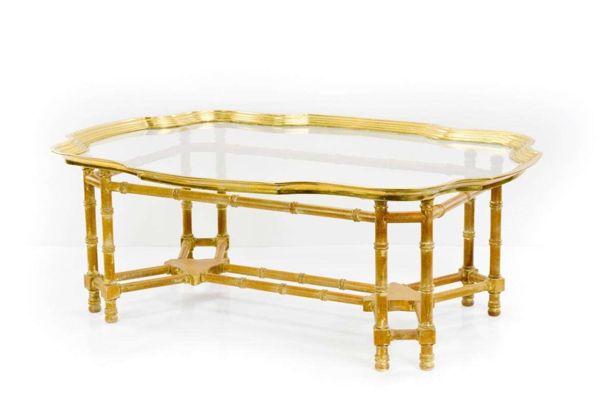 Featured Photo of Gold Bamboo Coffee Tables