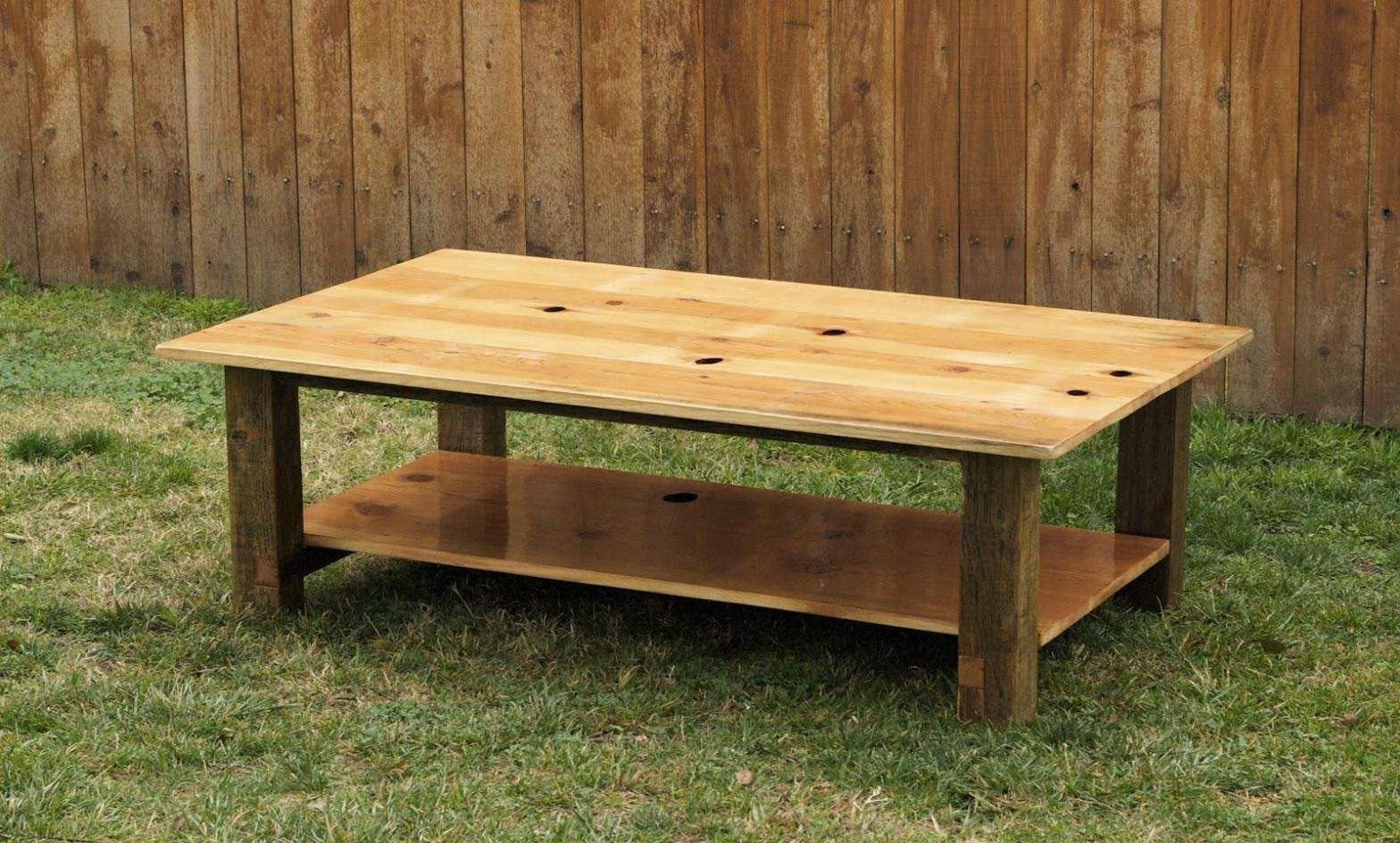 Coffee Table Design Ideas Throughout Most Popular Square Pine Coffee Tables (View 2 of 20)